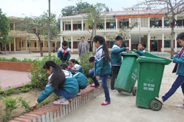 trách nhiệm của học sinh trong bảo vệ môi trường