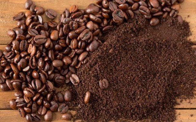 cách khử mùi vệ sinh với bã cà phê