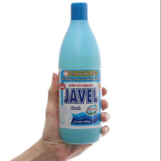 khử mùi vệ sinh từ nước tẩy