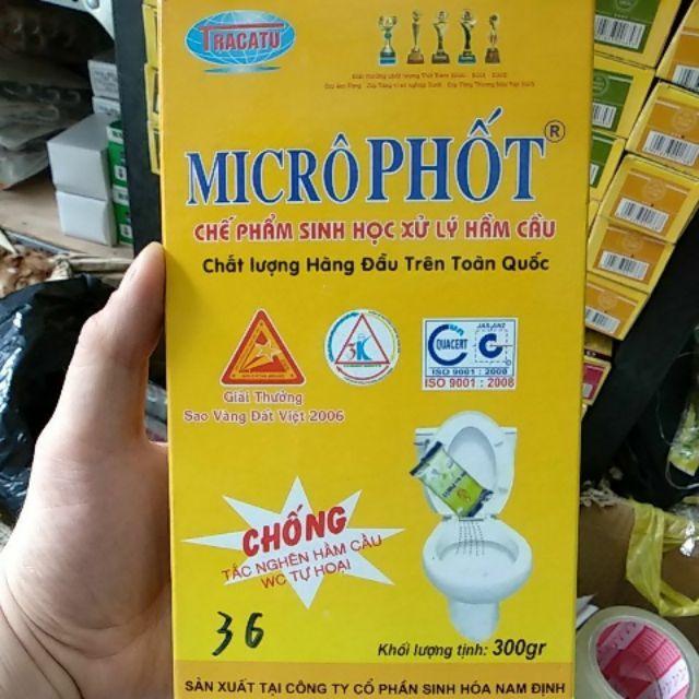 bột thông cống microphot