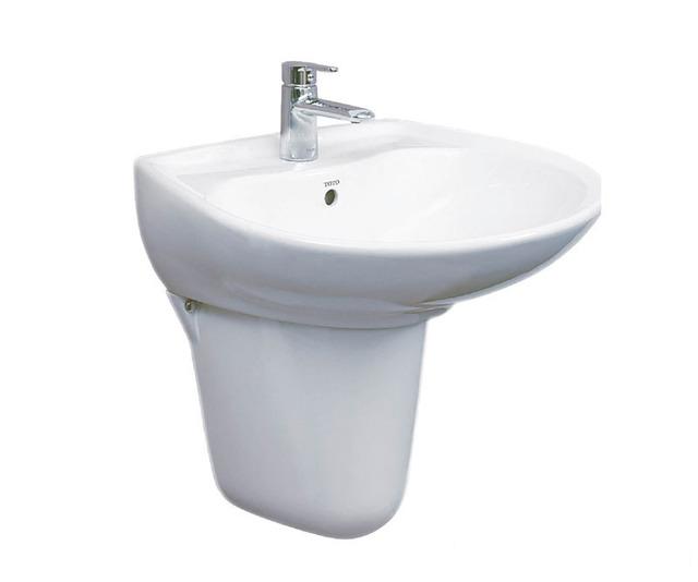 kích thước lavabo chân lửng